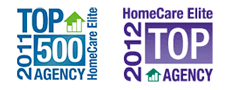 ACHC Accredited.  2011 HomeCare Elite Top 500 Agency
